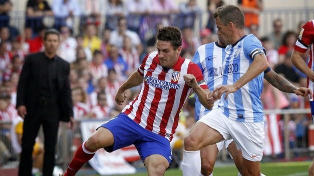 El Atlético no pudo con el Málaga y se la jugará en el Camp Nou
