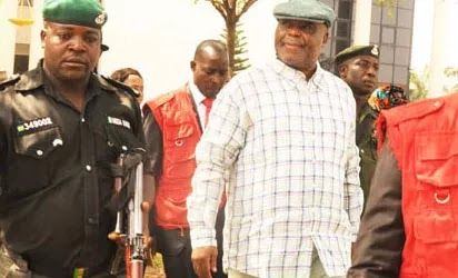 Former Chairman of Daar Communications Plc, High Chief Raymond Dokpesi, at the Federal High Court, Abuja