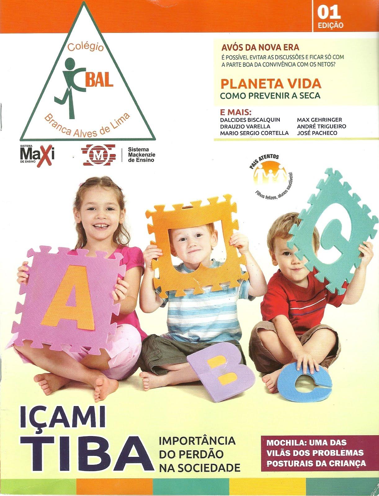 Revista Pais Atentos - Colégio BAL