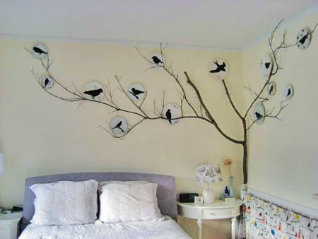 Home Decoration: Bedroom Wall Decor - Creative Bedroom Wall Decor ...