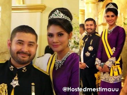 Foto terkini Cik Puan Khaleeda isteri TMJ yang jadi tumpuan