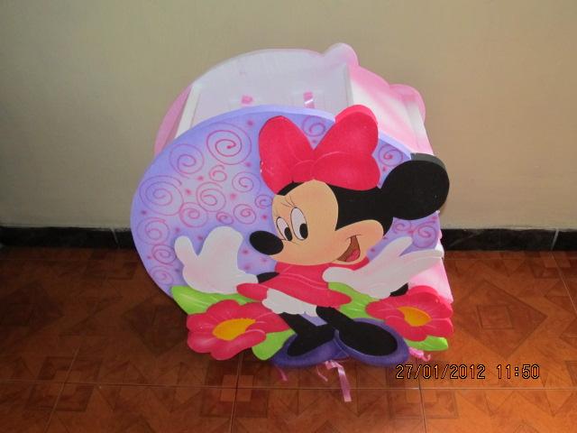 Letreros en foami de Minnie Mouse - Imagui