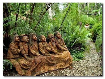 Las esculturas mágicas de Bruno Torfs - Marysville Australia - Jardín de esculturas13