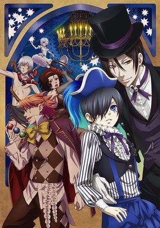 Kuroshitsuji: Book Of Circus - Hắc Quản Gia Phần 3 2014 Poster