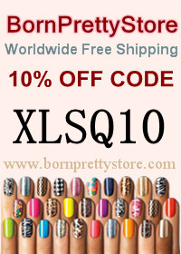 XLSQ10 code worth of 10% off your shopping at BornPrettyStore!