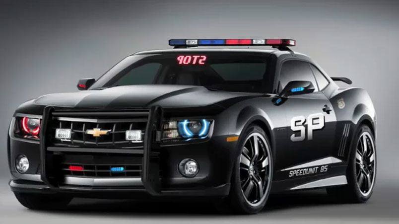 2010 Chevy Camaro Police Car