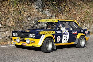 """La storica Fiat 131 Mirafiori Abarth """"Olio Fiat"""""""