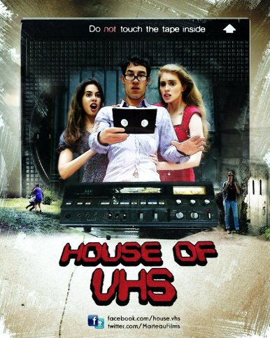 house of vhs poster
