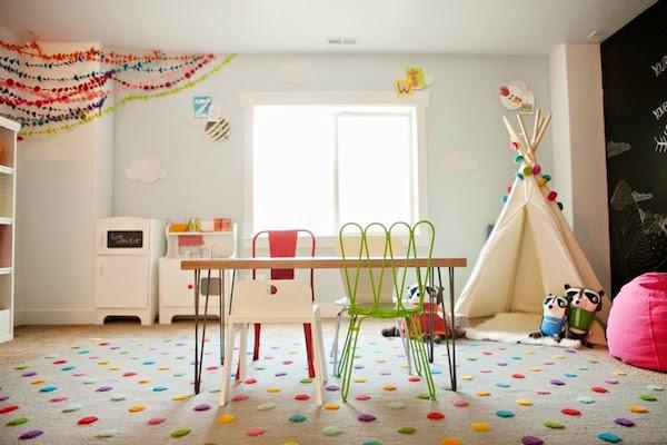 Como montar un cuarto de juegos para ni os lleno de color - Juego de decorar casas completas ...