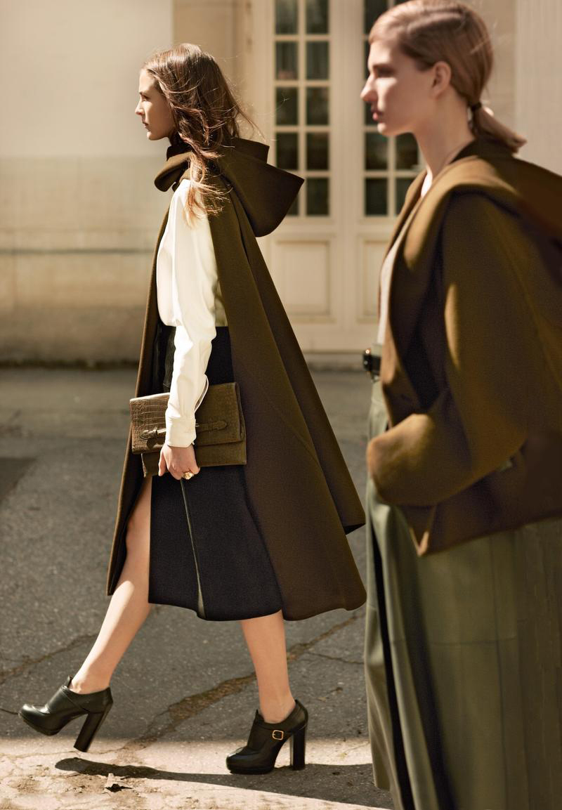 Hermes Fall/Winter 2013-2014 ready to wear collection look book