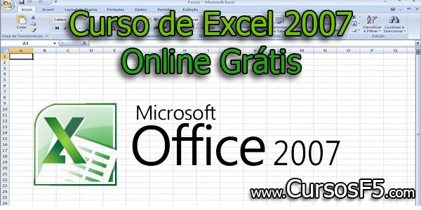 Curso de Excel 2007 Online Grátis
