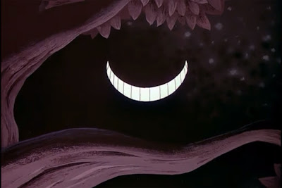 Alice Wonderland Disney animated Cheshire cat grin