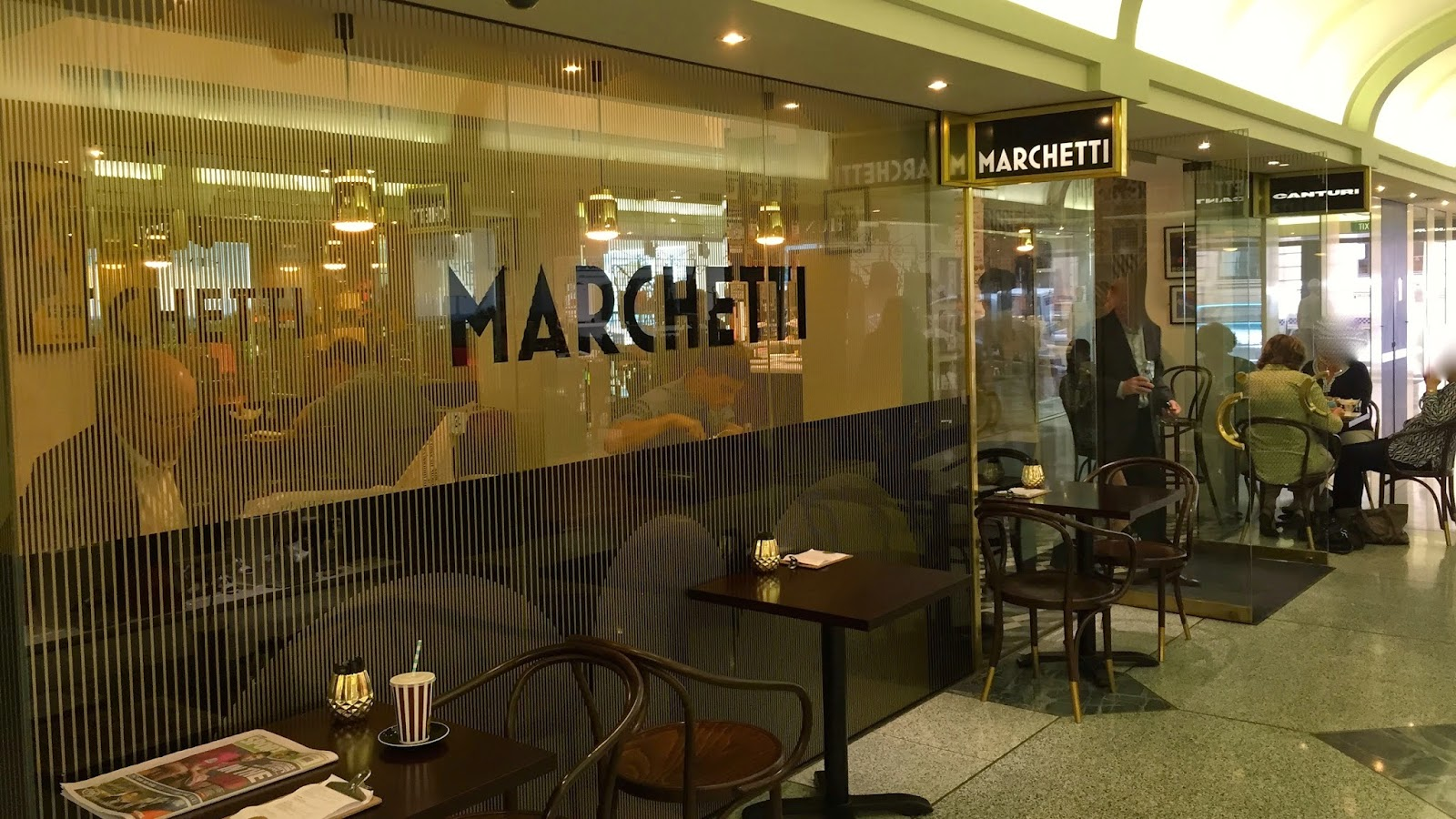 Foodmeupscotty casual dining lunch marchetti cafe in for Table for 6 brisbane
