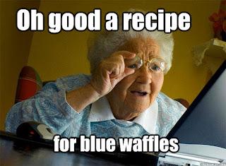 Signs of Blue Waffles Disease