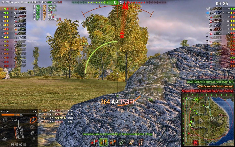 o-1 world of tanks