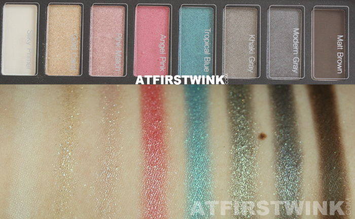 Clio All That Eye Styler Kit 1 - Lie on the beach swatches