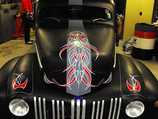 Pinstriped Hot Rod Sydney New South Wales Traditional Signwriters Australia