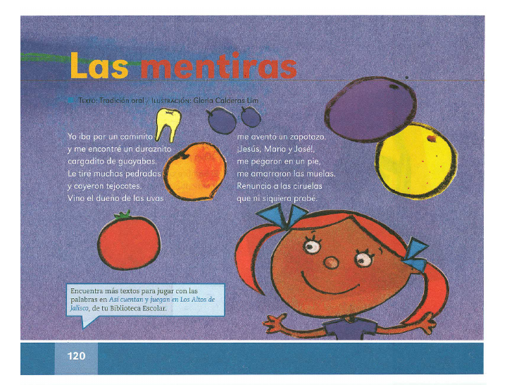 Las mentiras español lecturas 2do bloque 5/2014-2015
