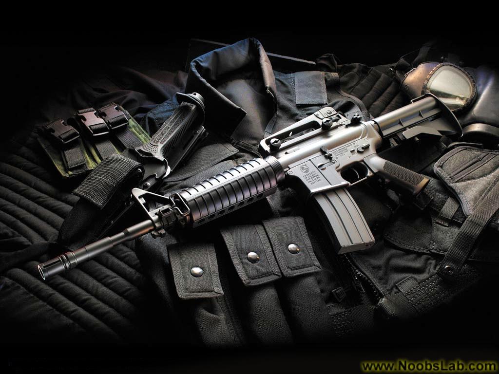 HD Guns Wallpapers - NoobsLab