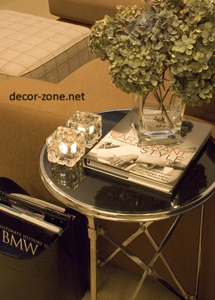 small coffee table decorating ideas
