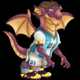 imagen del dragon pulga de dragon city