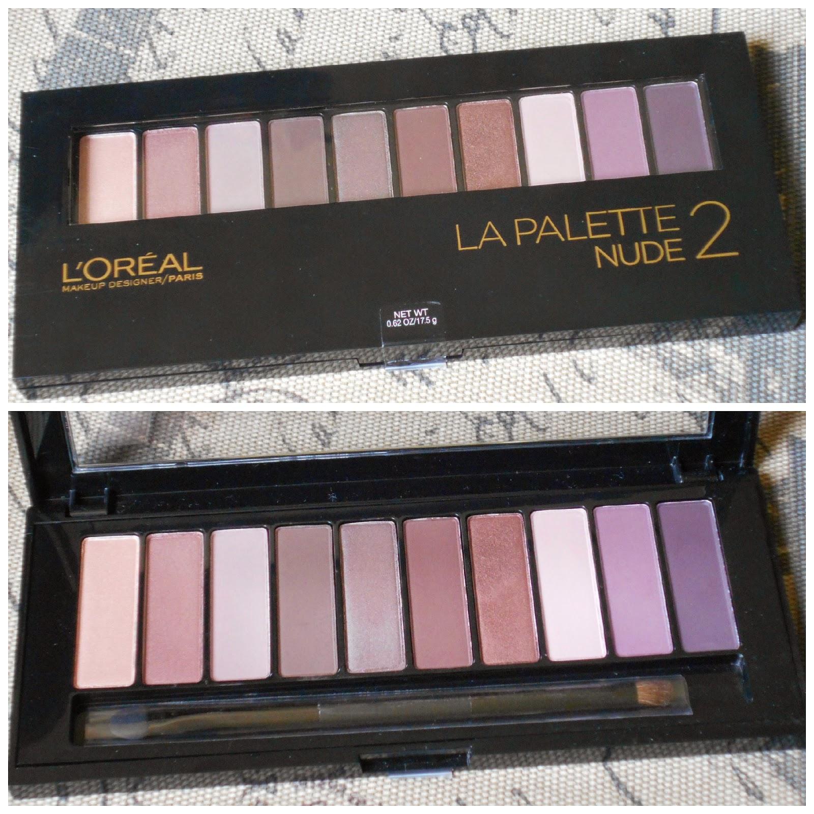 L'Oreal  La Palette Nude 1 & La Palette Nude 2
