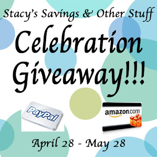 Stacy's Savings & Other Stuff Celebration Giveaway