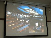 武雄市図書館の2Fから眺めたスターバックス