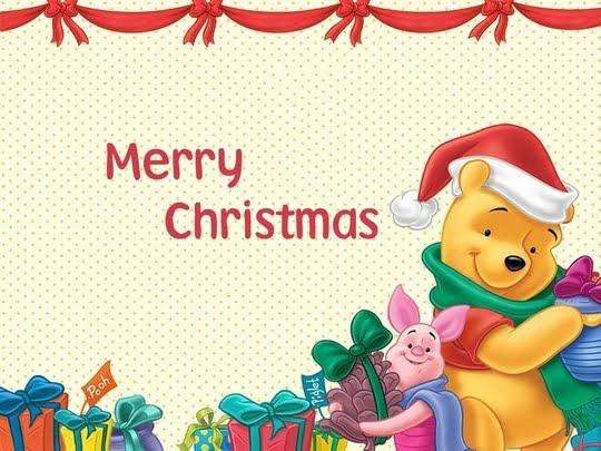 czeshop images winnie the pooh merry christmas pictures