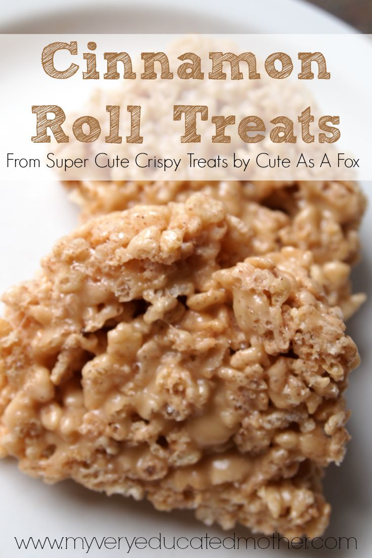NO RECIPE - BOOK REVIEW FOR SUPER CUTE CRISPY TREATS By Cute as a Fox