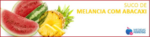 Suco de Melancia com Abacaxi - Sucos para Emagrecer