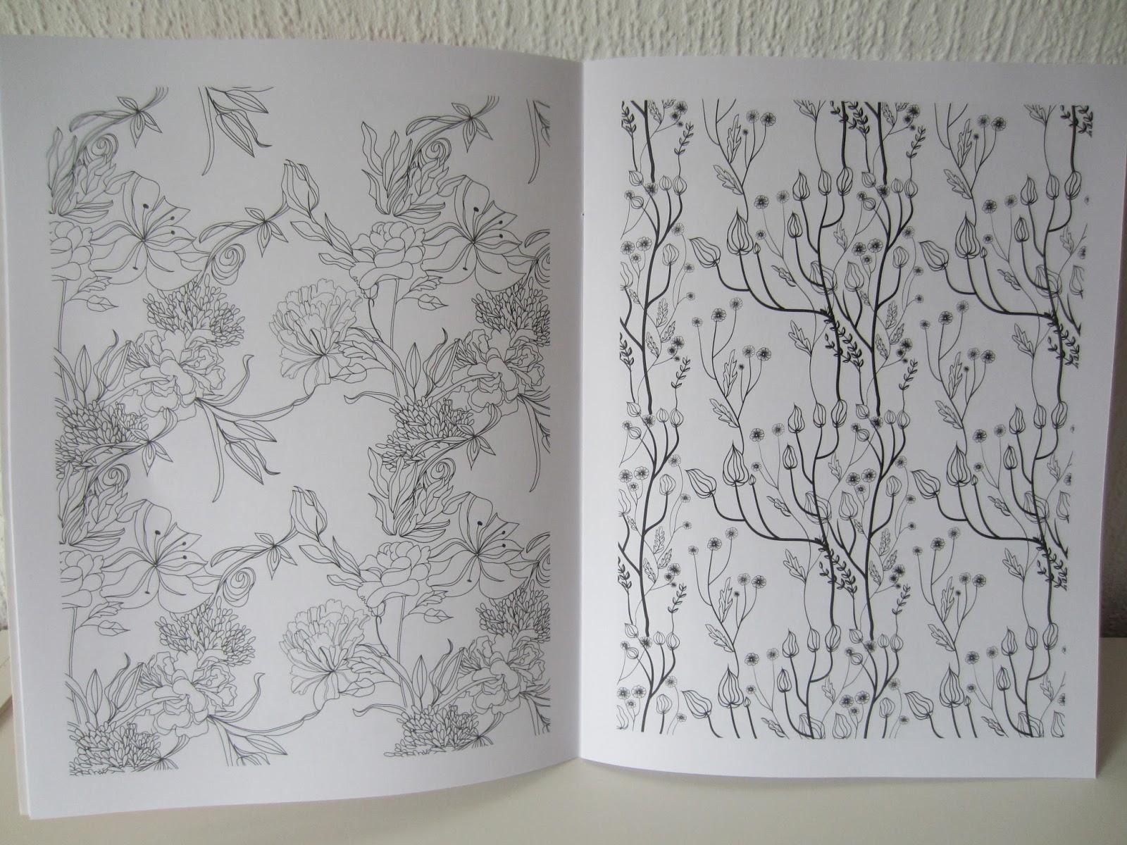 Relaxze creatief kleurboek voor grote mensen relaxze - Idee voor volwassenen ...
