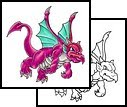 """special"" DESIGNS BABY DRAGON TATTOO"