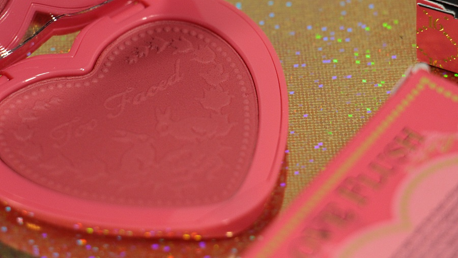 love blush too faced avis revue review