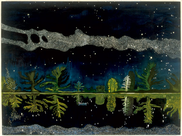 Minerals and Resins: peter doig