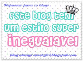 Um miminho do blogue