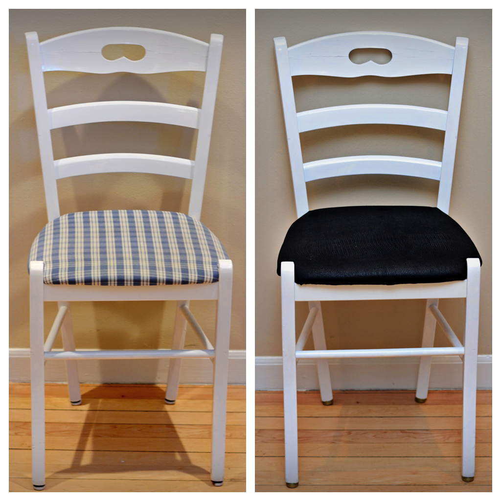 Ashley Nicole Catherine Diy How To Reupholster A Chair Seat