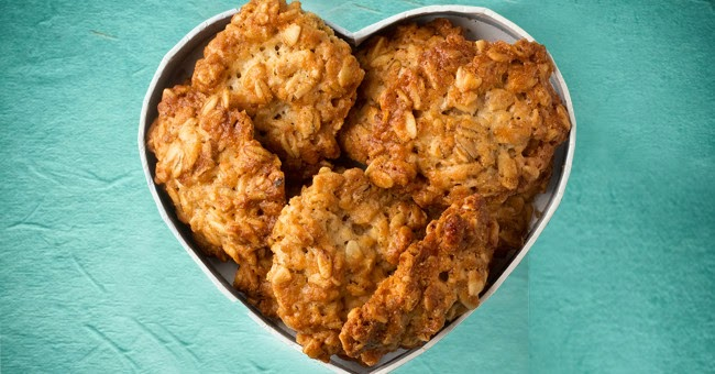 http://iquitsugar.com/recipe/sugar-free-anzac-biscuits/