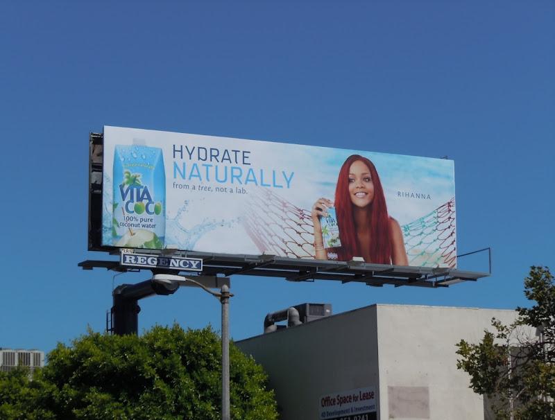 Vita Coco Rihanna billboard