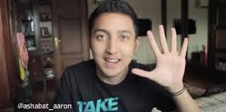 Aaron Ashab Pemain Sinetron Kampung Akik