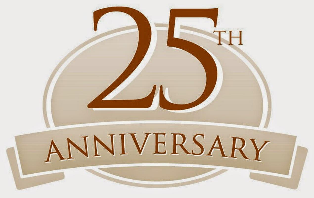 best 28 cilo s 25th anniversary and 25th anniversary 25th Anniversary Logo Ideas 25th Wedding Anniversary