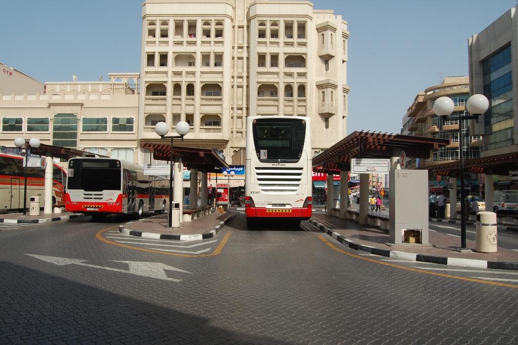 Al Sabkha Bus Station Deira Dubai United Arab Emirates Dinodxbdino