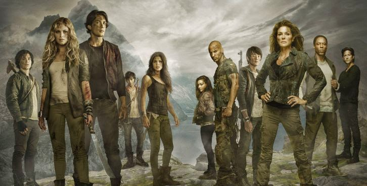 The 100 - Season 2 - Cast Promotional Photos