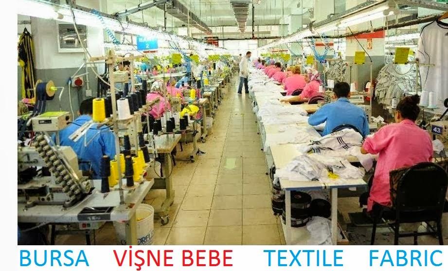 bursa vişne bebe tekstil çocuk giyim üretim dikim atölyesi