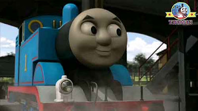 Number 1 Thomas train engine really wanted to make his friend red fire engine Flynn the train happy