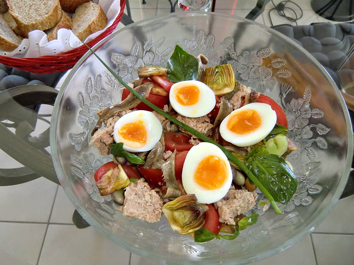 The real salade nicoise