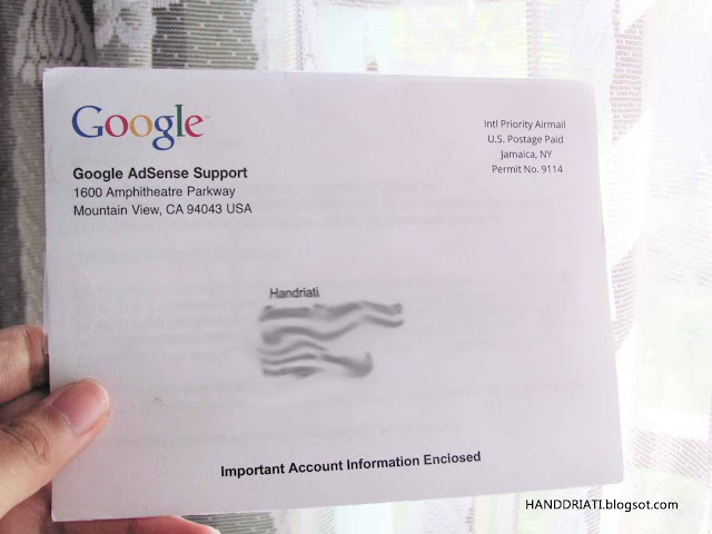 Cara Mendapatkan PIN Verifikasi Google AdSense