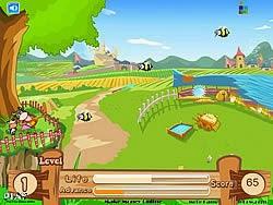 Bảo vệ nông trại, game hanh dong