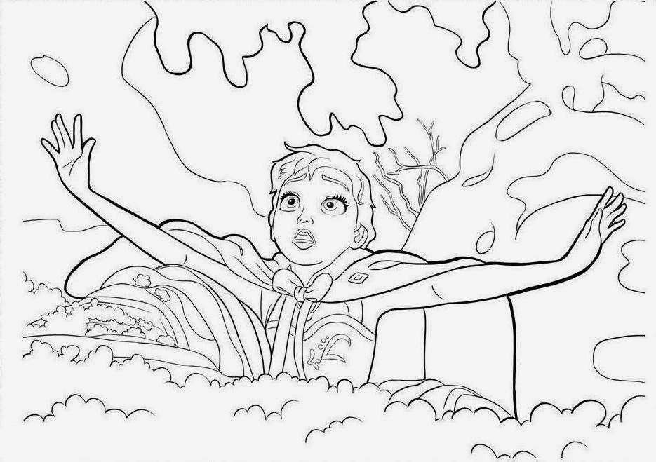 The 50 Frozen Coloring Drawing Free wallpaper