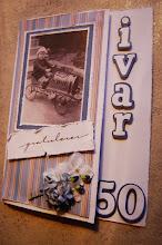 Scrapbooking - bursdagskort